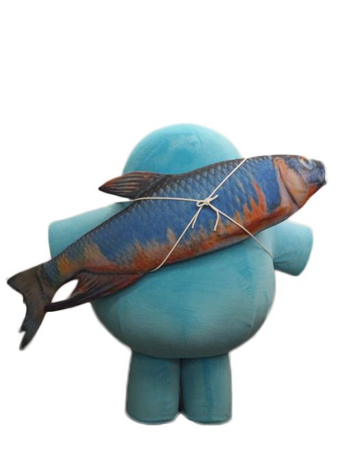 魚心くん後ろ